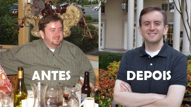 Dieta incrível faz homem perder 45 Kgs comendo vegetais