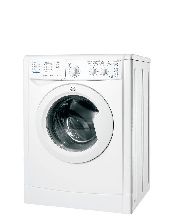 Lavadora Secadora Eco Time - IWDC 71680 ECO (EU) - Con la opción Express Wash & Dry tendrá sus prendas lavadas, secas y listas para usar en sólo 45 minutos. Cuidar sus prendas de tejido denim es ahora más fácil que nunca con este lavado delicado. Sus vaqueros quedarán perfectamente lavados y secados, con un cuidado especial a la conservación de los colores intensos. http://www.indesit.es/electrodomesticos_i/Lavadoras_Secadoras_IWDC_71680_ECO_(EU)/pid_F078727SP/42.do