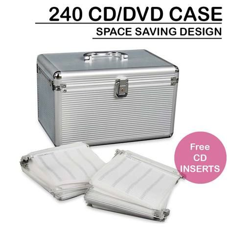 Heavy Duty CD DVD storage box is made of aluminium with black velvet lining, light weight & chic look. Buy Online at DuringDays. Free delivery Australia wide