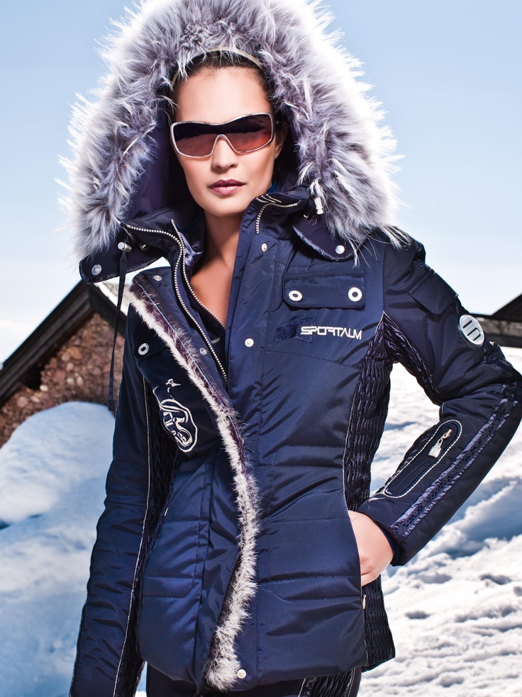 sportalm steel jacket designer skiwear aspen aspen style pinterest. Black Bedroom Furniture Sets. Home Design Ideas
