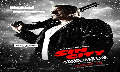 "Sin City: A Dame to Kill For | Film ini di adaptasi dari novel grafis 'Sin City' dalam buku kedua 'A Dame to Kill For'. ""Sin City: A Dame to Kill For"" merupakan kelanjutan dari film pertamanya di t..."