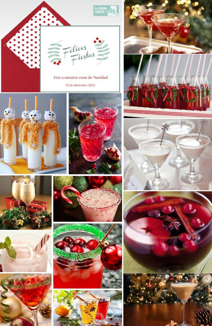 navidad bebidas de navidad cenas de navidad tarjetas de navidad cena de