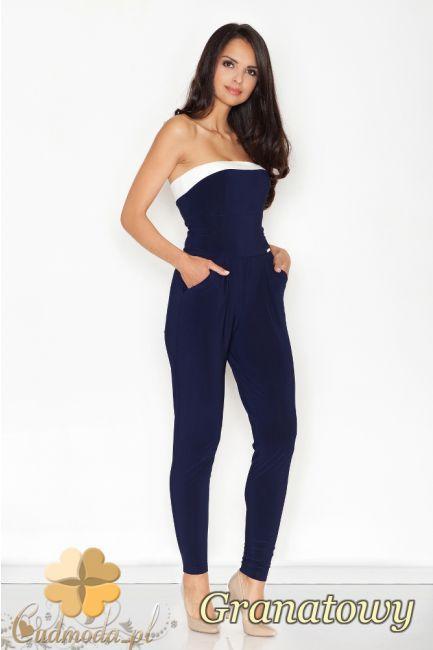 Dopasowany kombinezon bez rękawów marki FIGL.  #cudmoda #moda #ubrania #odzież #clothes #kombinezony