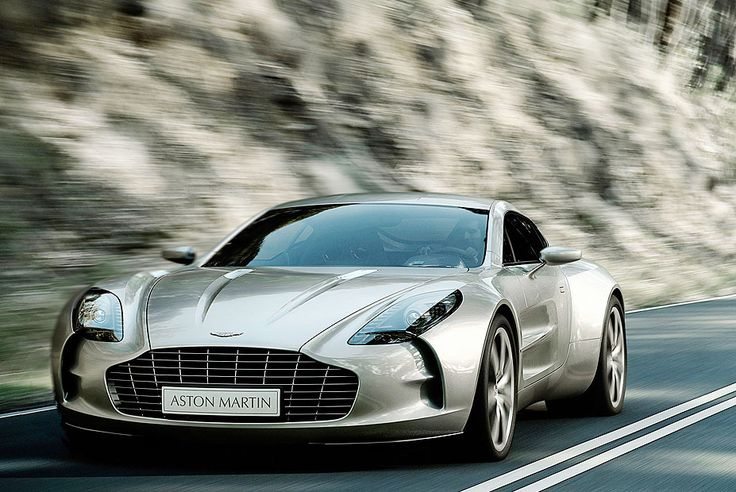 World's Most Expensive Cars: One 77 Aston Martin 1.85-Million