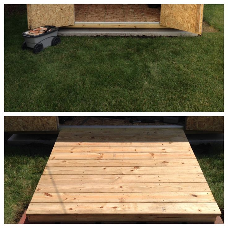 Shed ramp for Amy.