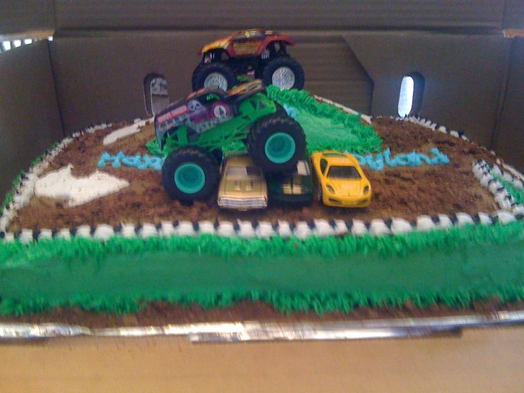 Monster Truck Cake Dylan S 6th Birthday Monster Truck