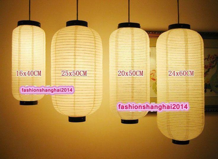 Japanese Paper Lantern Festive Shop Restaurant Opening Decoration Multiple Sizes Garden Pa Japanese Paper Lanterns Handmade Lanterns Outdoor Paper Lanterns