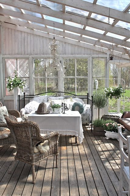 White Sunroom