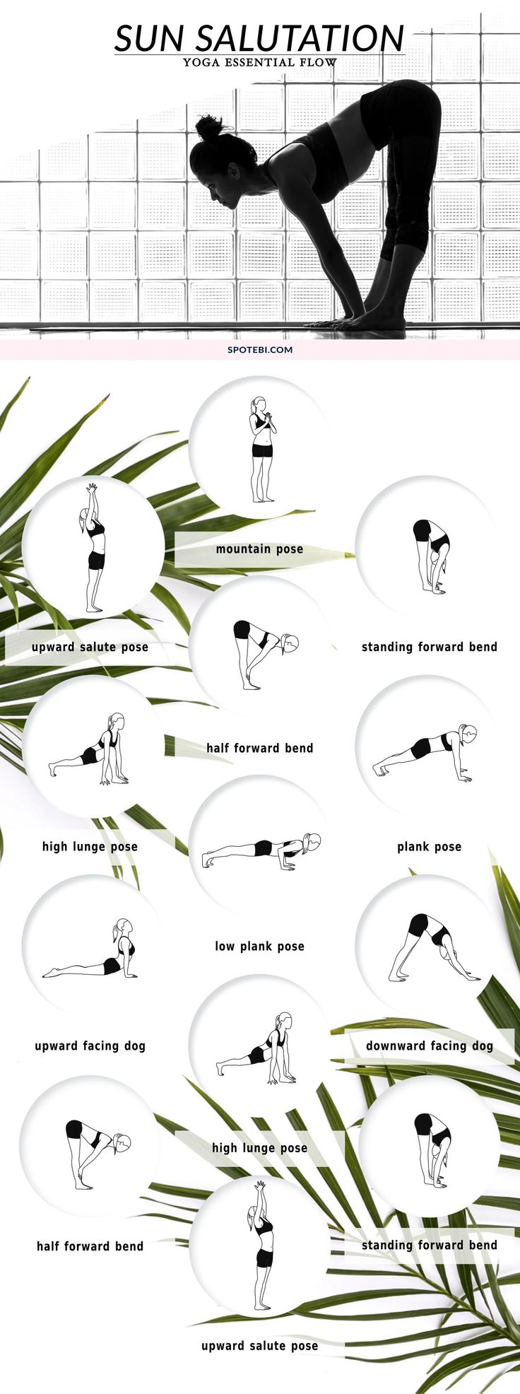 Sun salutation for energising you in the morning.