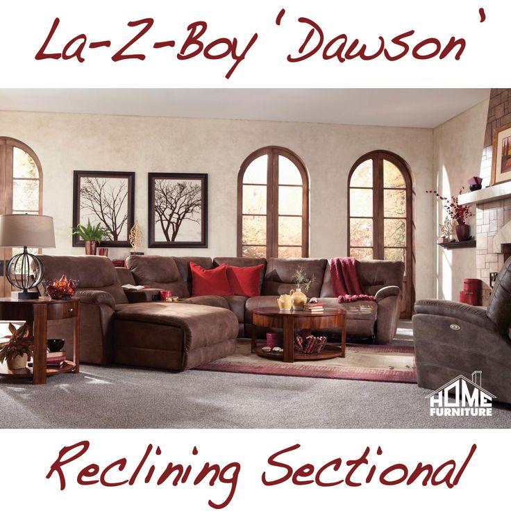 La Z Boyu0027s U0027Dawson Reclining Sectional On Our Showroom Floor!! #