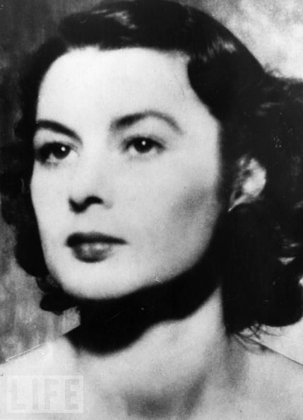 """UK/FRANCE: Violette Szabo (1921-1945) ; Code named """"Louise"""", Szabo was a secret agent in the Second World War, leading a French resistance network to sabotage bridges and communication lines ahead of the D-Day landings. She was caught, sent to Ravensbruck concentration camp, and executed. Posthumously awarded the George Cross.  Women we admire; influential women in history."""
