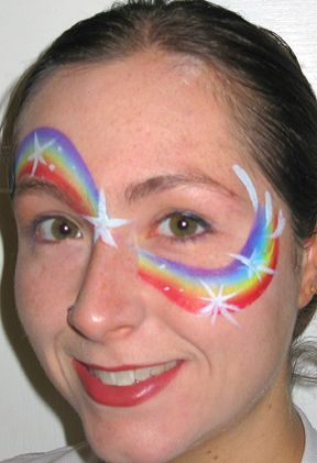 Super fast face paint designs
