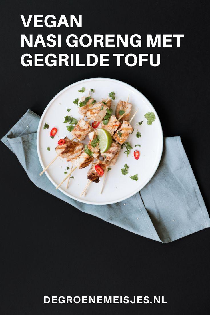 Dit keer een Aziatisch vegan basis recept: nasi goreng met gegrilde tofu. Een makkelijke maaltijd waarbij we zo min mogelijk verspillen en zonder pakjes of zakjes.
