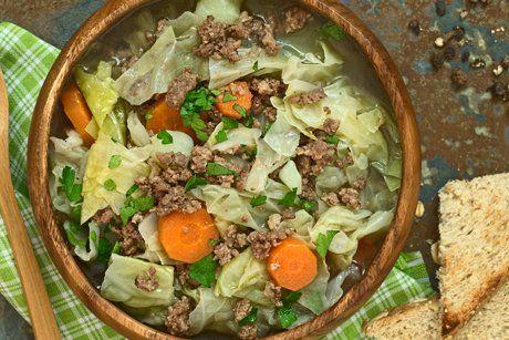 Eintopf mit Faschiertem, Wirsing und Karotten - Rezept