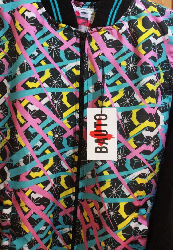 Bomber jacket www.facebook.com/bauto.mas