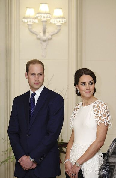 Prince William - The Duke And Duchess Of Cambridge Tour Australia And New Zealand - Day 18