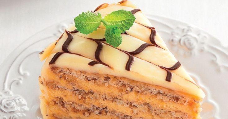 Pripravte si recept na Torta Esterházy s nami. Torta Esterházy patrí medzi najobľúbenejšie recepty. Zoznam tých najlepších receptov na online kuchárke RECEPTY.sk.