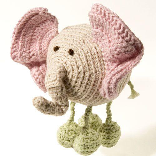 FREE SHIPPING-umweltfreundliche Bio-Baby-Spielzeug - Squishi Elefant (Baby-Dusche-Geschenk, Baby-Geschenk für besondere Anlässe)