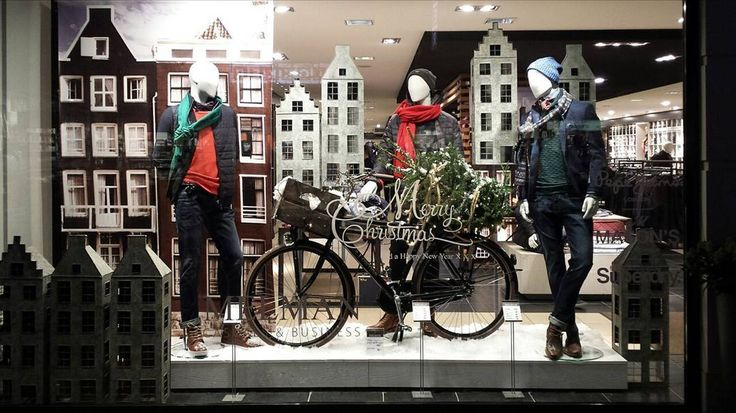 "MELMAN BUSINESS&CASUALS, Sassenheim, The Netherlands, ""Een dagje Amsterdam"", (A day in Amsterdam), creative by Designing Haaker BV, pinned by Ton van der Veer"