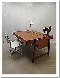 Mid century design Eden bureau desk Jaren 60 Clausen & Maerus www.bestwelhip.nl