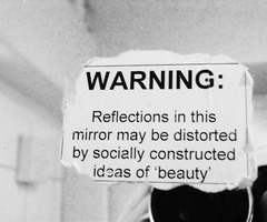 distorted reflections