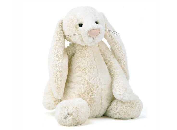 Mjuk kanin stor crème - Bonti