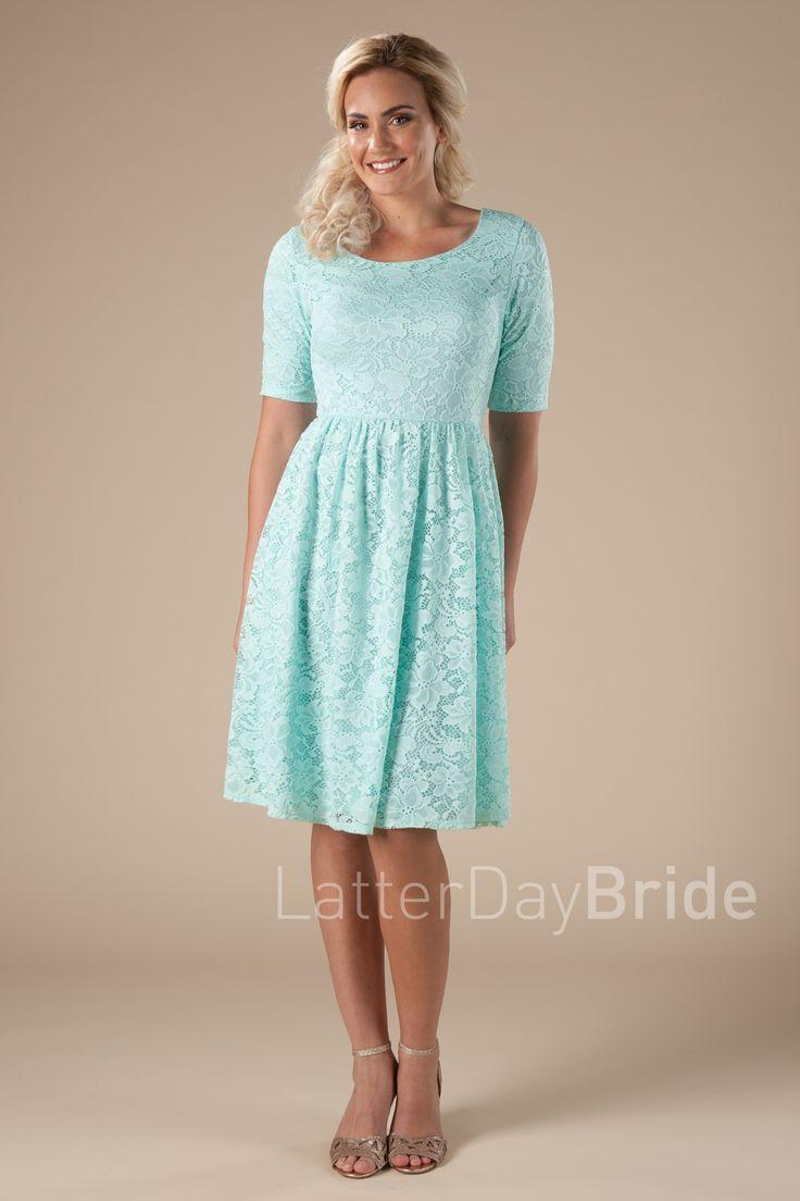 25 best Modest Bridesmaid Dresses Under $100 images on Pinterest ...