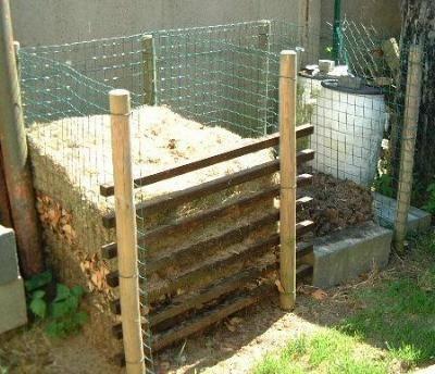 composteur en grillage jardinage pinterest. Black Bedroom Furniture Sets. Home Design Ideas
