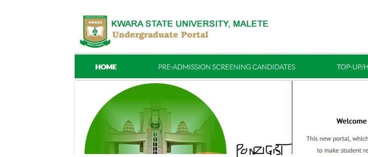 Kwasu Student Portal | Kwasu Payment Portal Login