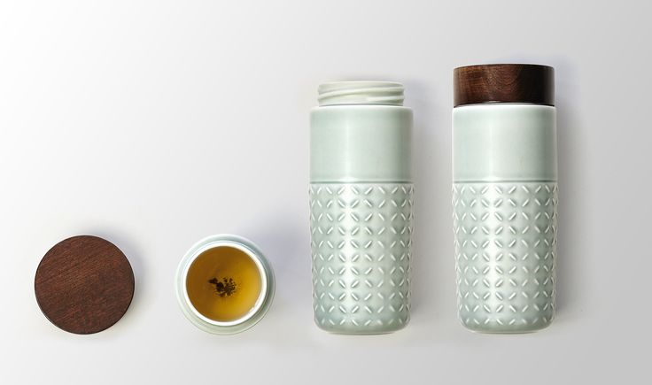 For a #healthy break, your #travelmug in #ceramic with #tourmaline is the right #accessory.