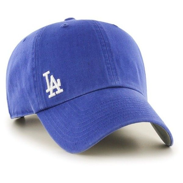 Women's '47 Brand Suspense Los Angeles Dodgers Baseball Cap ($25) ❤ liked on Polyvore featuring accessories, hats, blue, dodgers baseball hat, embroidered ball caps, ball cap, la dodgers hat and blue baseball hat