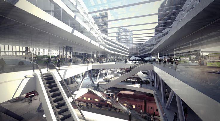 Oslo bus terminal - MAD arkitekter
