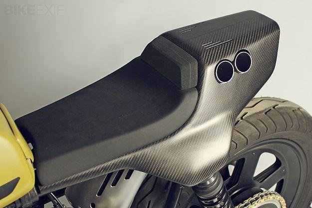 JvB Moto Ducati Pantah - exhaust