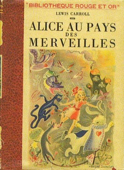 Alice in Wonderland. 1949. France. Illustrations: Unknown.
