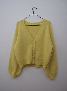 Ravelry: Balloon Cardigan pattern by PetiteKnit
