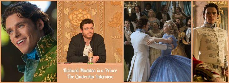 Richard Madden is a Prince: The Cinderella Interview #CinderellaEvent