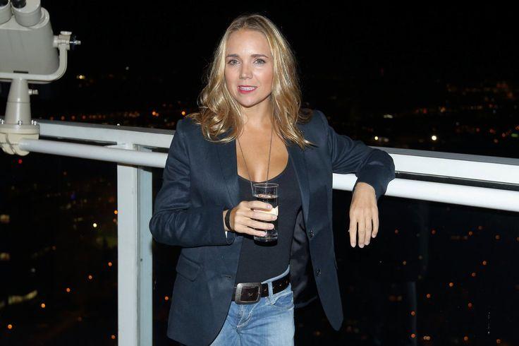 Lucie Vondráčková přijela do Prahy na pár dní.