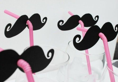 These moustache sippers are pretty sweet!Mustaches Parties, Bachelorette Parties, Birthday Parties, Cute Ideas, Parties Ideas, Mustaches Straws, Kids, Moustaches Straws, Crafts