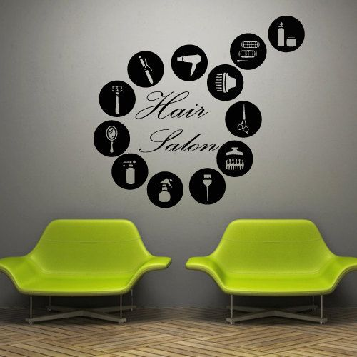 Salon Wall Decor 53 best my own salon (decor & branding) images on pinterest