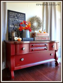 Pure luck is what brought this vintage lowboy and I together. My hubby asked if I wanted it and I said (with an extremely confused lo...