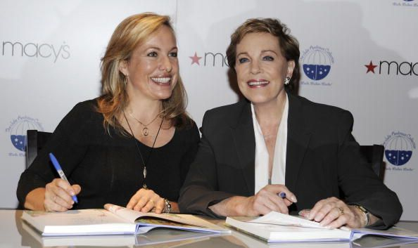Actress Julie Andrews and author Emma Walton Hamilton appear to promote 'Julie Andrews' Collection of Poems Songs and Lullabies' at Macy's Herald...