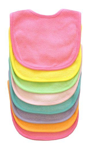 Neat Solutions 8 Pack Multi-Color Solid Knit Terry Feeder Bib, Girl $11.49: Girl 11 49, 10 35 Bestseller, Color, 10 35 Topseller, Baby Bibs, Baby Girls, Girls Bibs, 11 49 11 49 Baby, 9 89 Neatsolutions