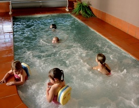 Indoor heated spa - BIG4 Ballarat Goldfields Holiday Park