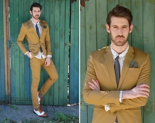 All of this is great...handkerchief included.: Hipster Fashion, Bi Adrian, Costumes, Casual Style Inspiration, Clothing, Men Fashion, Cheer Darling, Bride, 2256415 Adrian Canoeing