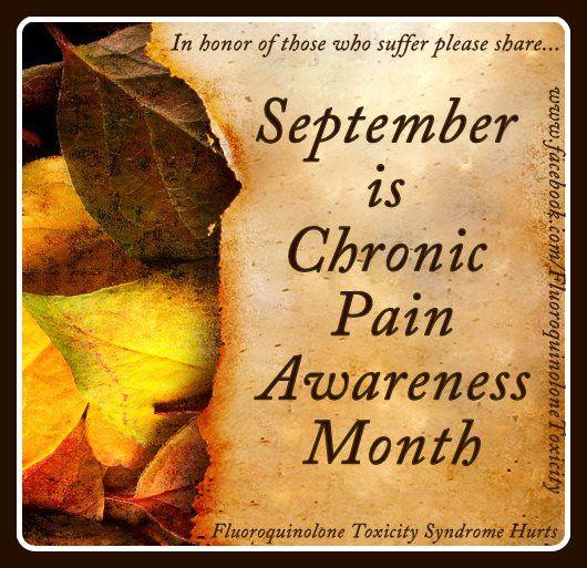 September is Chronic Pain Awareness Month
