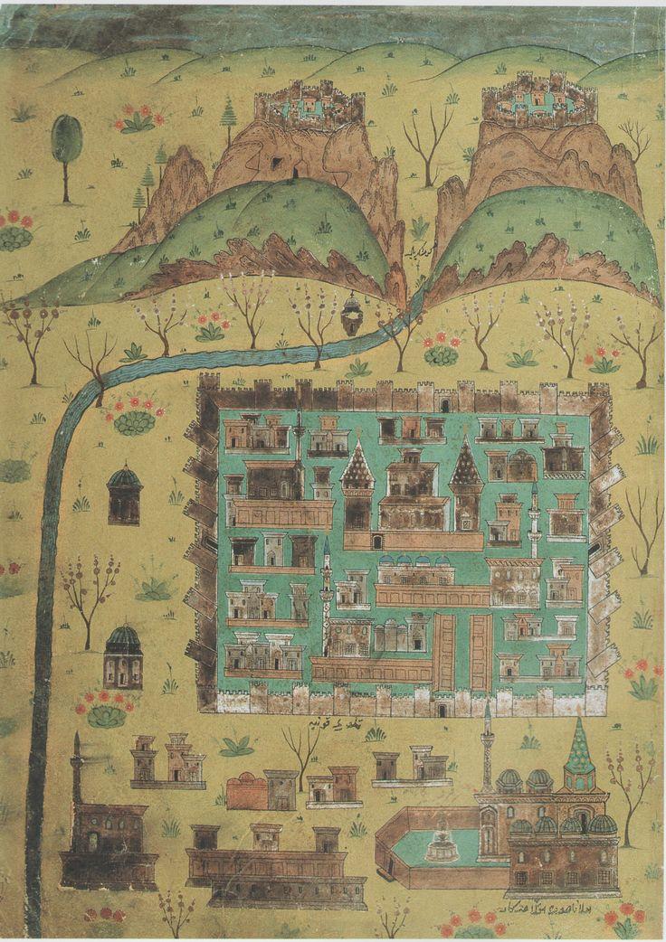 Matrakçı Nasuh-Konya-Beyan-i Menazil-i Sefer-i Irakeyn-i Sultan Suleyman, written circa 1537. (Istanbul University Library)