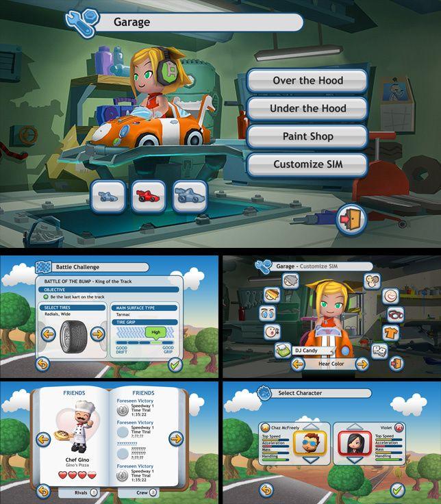 Behaviour Interactive UI Work - JASON WOZENCROFT / PORTFOLIO