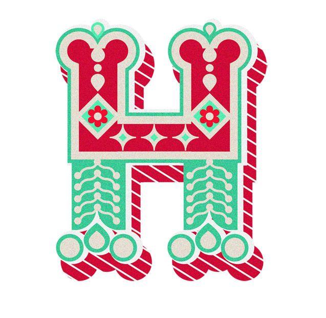 Typography :: Letter H   By Jonny Wan