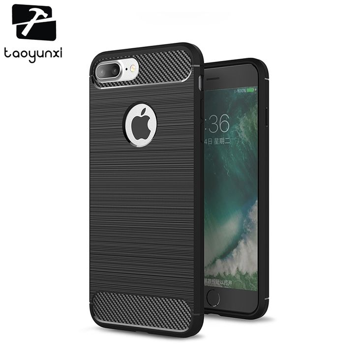 TAOYUNXI Silicone Phone Cases Bags For iPhone 7 Plus Case Apple  iPhone7 Plus A1661 A1784 iPhone 7 Pro Back Covers Housing Shell