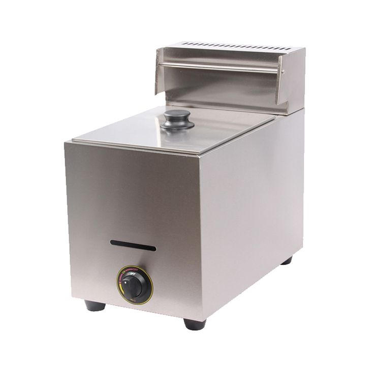 345.00$  Buy here - http://ali1j6.worldwells.pw/go.php?t=32615095682 - 10L Single Tank Commercial Gas Deep Fryer_ Gas Fryer_ LPG Gas Deep Fat Fryer